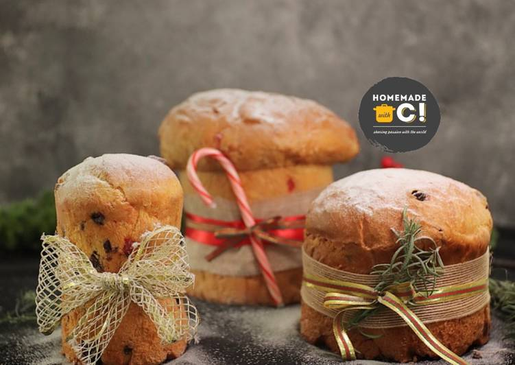 Homemade Pannetone (Christmas Edition)