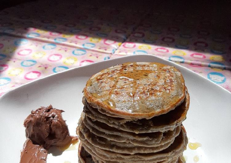 Resep Pancake Oreo simpel ala anak kos Paling Mudah