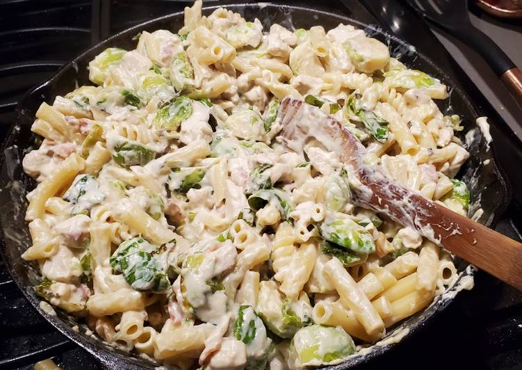 Recipe of Top-Rated Chicken Bacon Brussel Sprouts