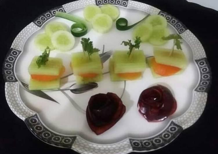 Recipe: Delicious Cucumber sandwich🍔🌿