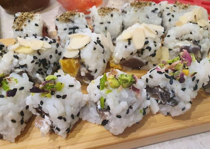 Ricetta Per Uramaki.Ricetta Uramaki Sushi Ai Sapori Di Sicilia Di Doctor Cooking Cookpad