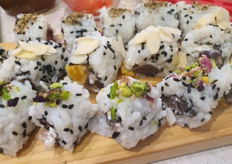 Uramaki Ricetta Facile.Ricetta Uramaki Sushi Ai Sapori Di Sicilia Di Doctor Cooking Cookpad