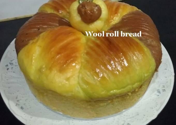 Wool roll bread resep ke 2