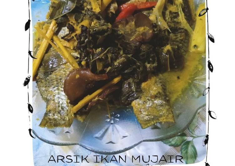 Arsik Ikan Mujair