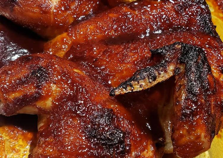 Recipe: Delicious Spatchcock BBQ chicken