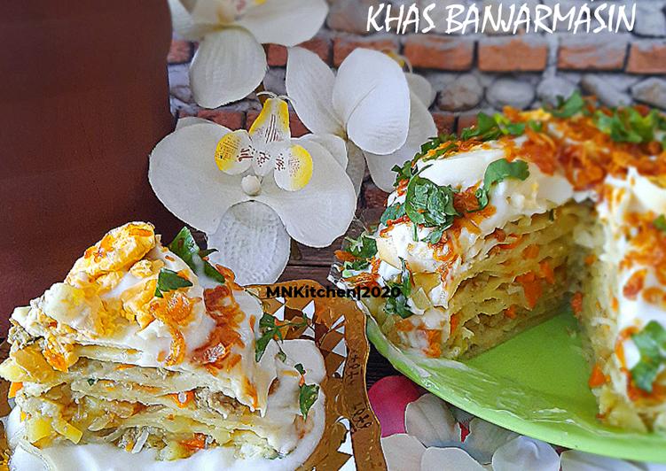 Wadai Ipau(Kue Ipau) Khas Banjarmasin