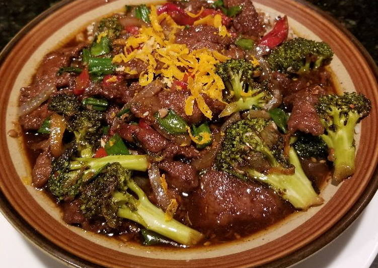 Easiest Way to Prepare Award-winning Spicy - Orange Asian Beef