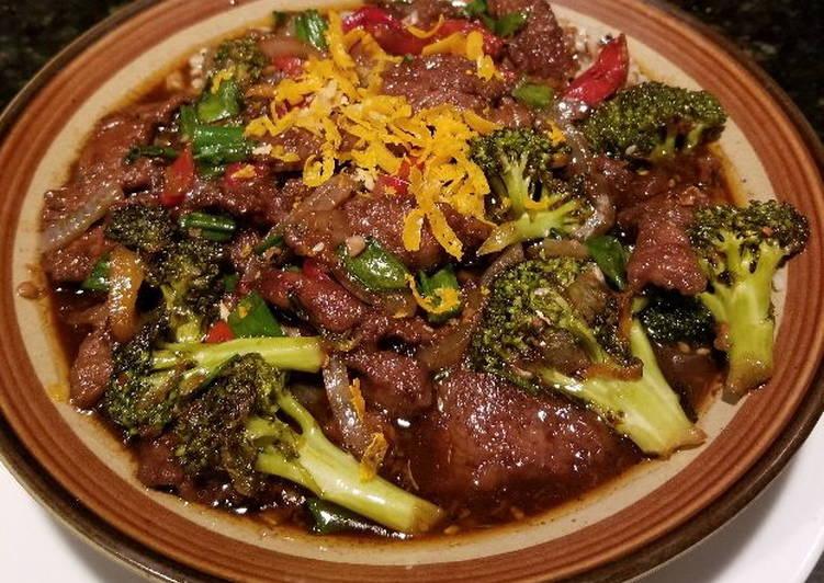 Spicy - Orange Asian Beef