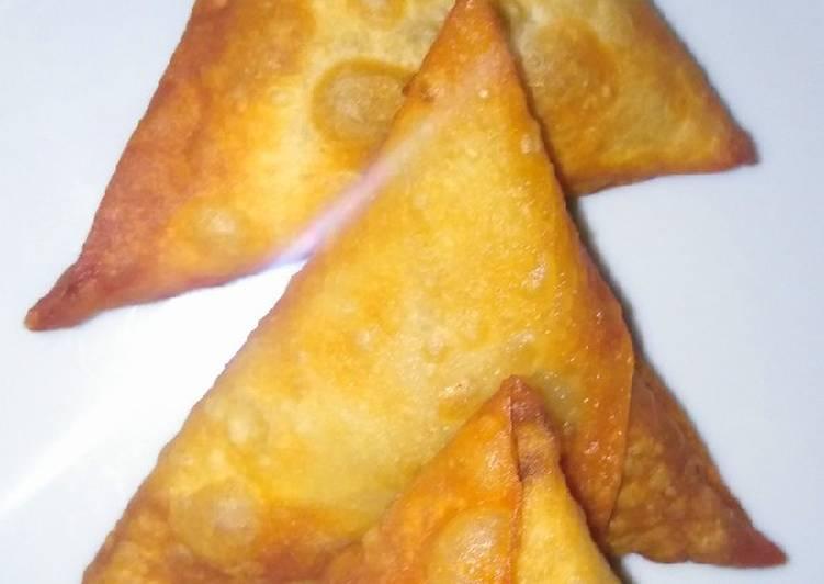 Recipe of Ultimate Potato black pepper samosa