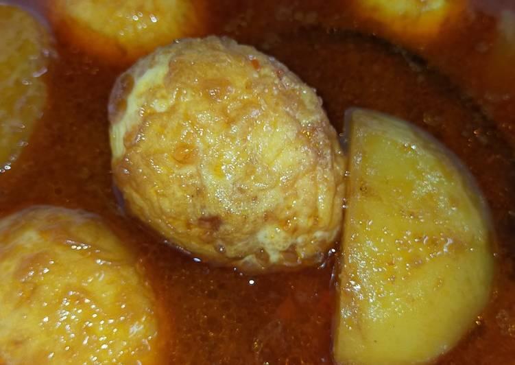 Semur Telur Kentang