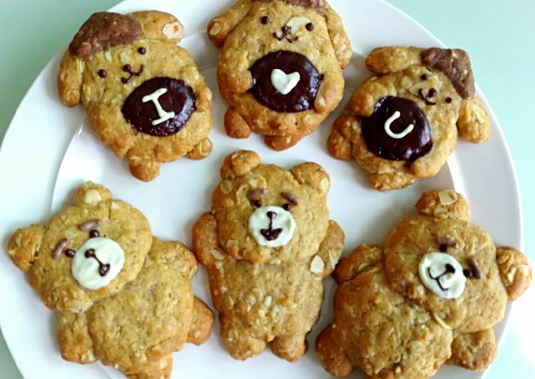 Recipe of Homemade Oat & Almond cookies