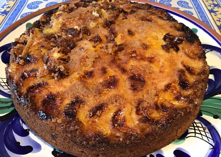 Le moyen le plus simple de Faire Délicieuse Gâteau caramélisé clémentines pomme et banane