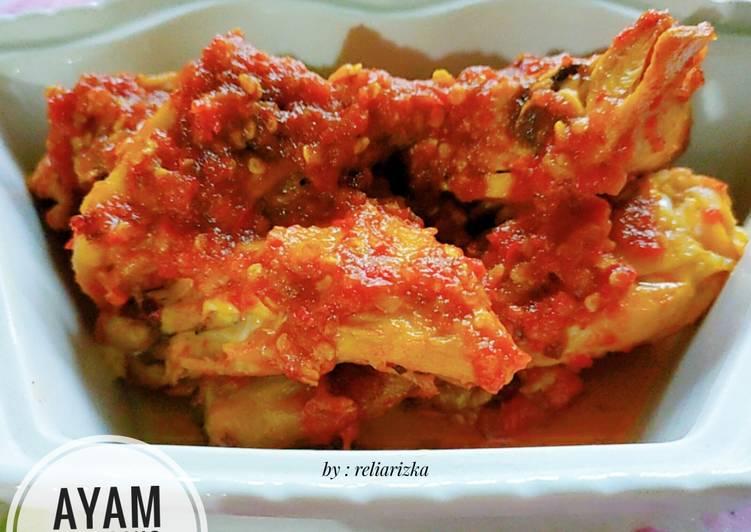 Recipe: Delicious Ayam Panggang Merah