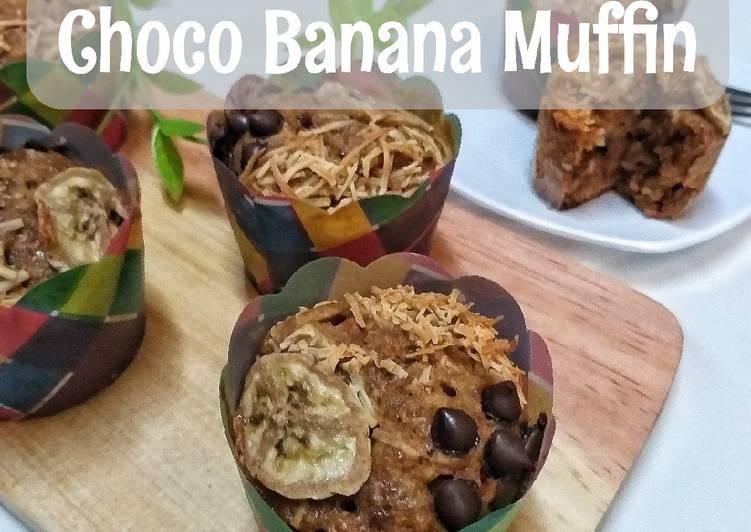 Choco Banana Muffin