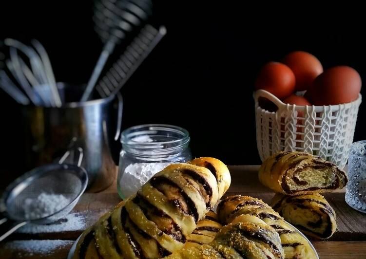 Bagaimana Menyiapkan Filipino Choco Bread yang Lezat