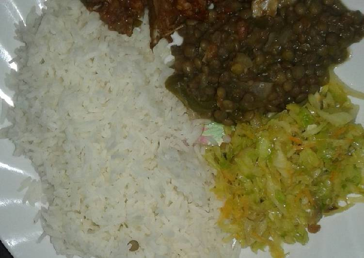 Recipe of Favorite Boiled Rice,barbecue beef steamed cabbage#local dish challenge