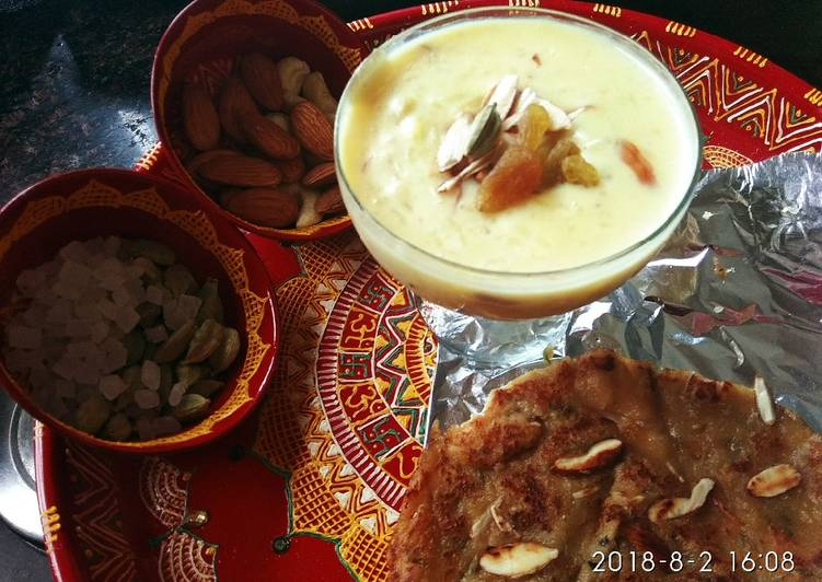 Learn How to Elevate Your Mood with Food Kheer kesar and Malpua