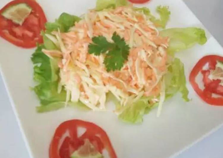 Recipe of Homemade Coleslaw salad