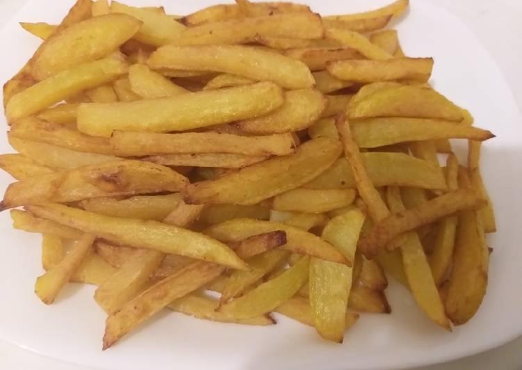 Pommes frites croustillantes