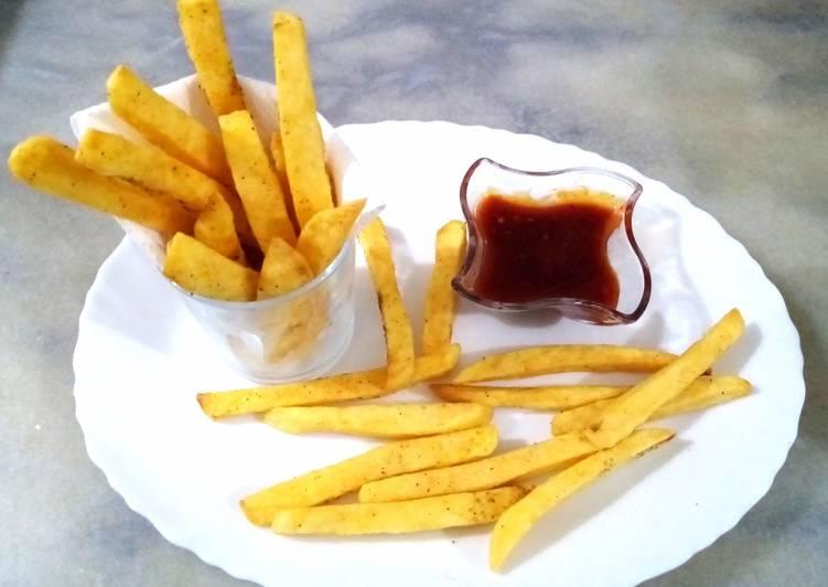 Recipe: Yummy Crispy French fries