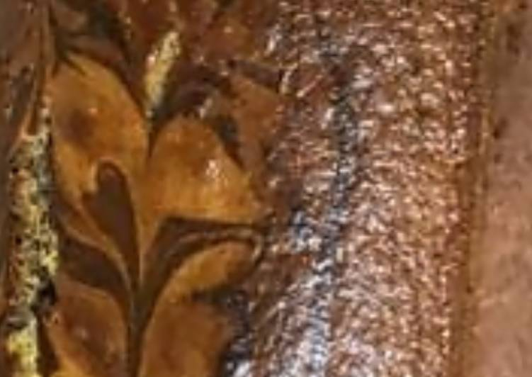 Steps to Prepare Speedy EGGLESS Olive Oil Marble Cake