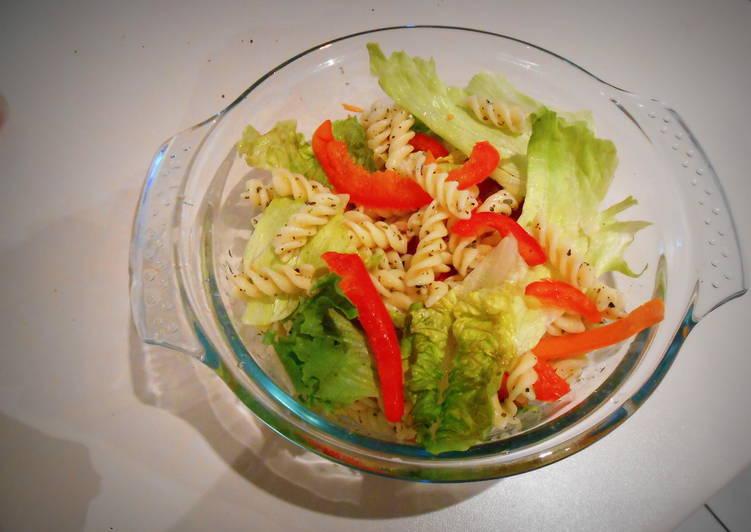 Recipe of Favorite Green-n-Red Pasta Salad