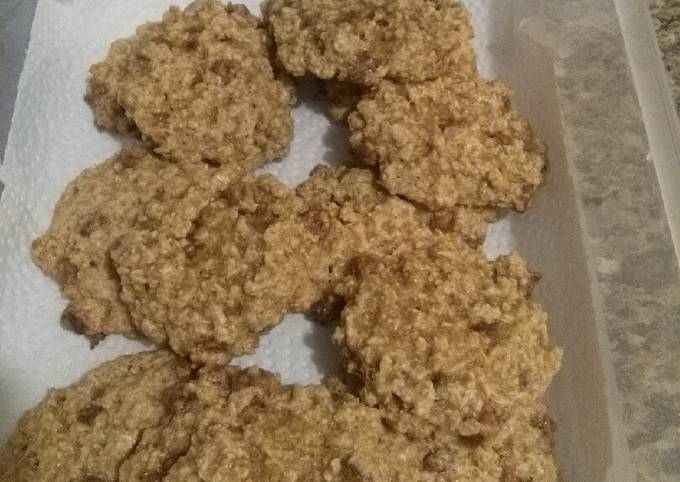 Biscuits classiques à l'avoine et brisures de chocolat