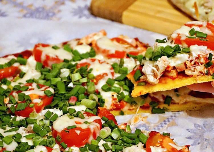 открытые ладони, низкокалорийная пицца рецепт с фото секция