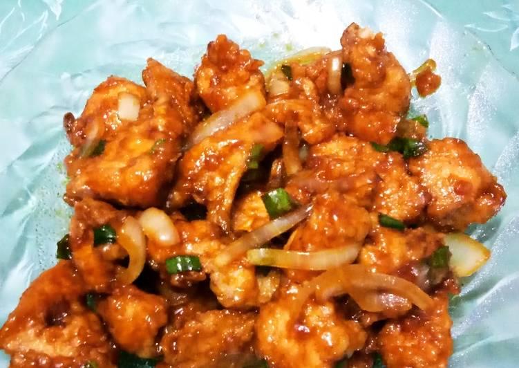 Ayam Crispy Saus Mentega
