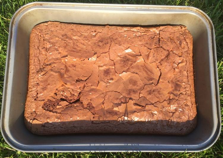 Brownie chocolat ultra simple