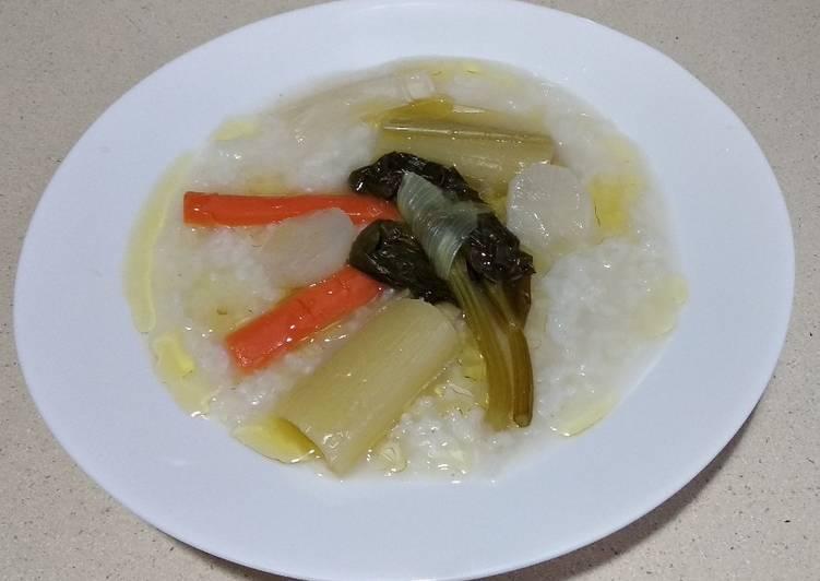 Sopa de arroz asiàtica