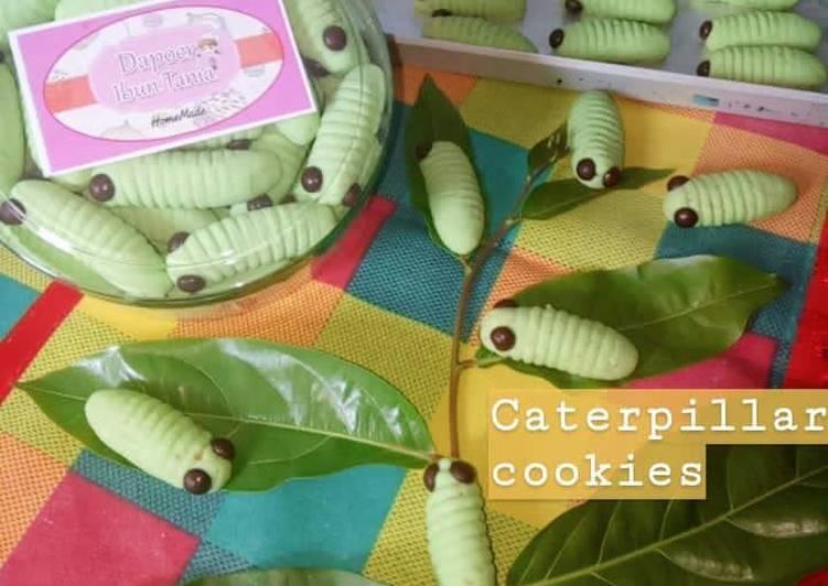 Caterpillar Cookies Keju ala Ibun Tania