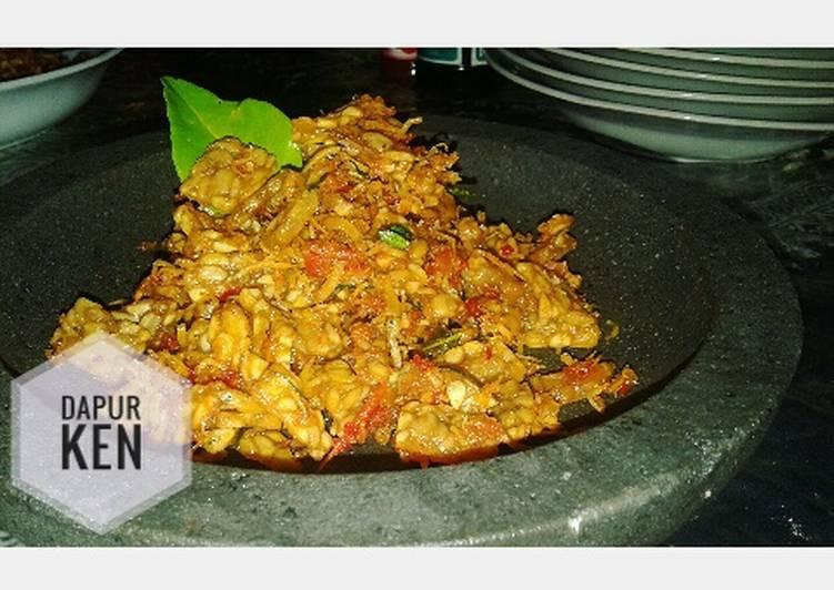 Resep Sambalado Tempe Teri Nasi ala Dapur Ken yang Sempurna
