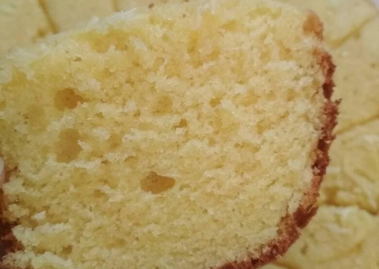 cara membuat Bolu tape keju panggang - Sajian Dapur Bunda