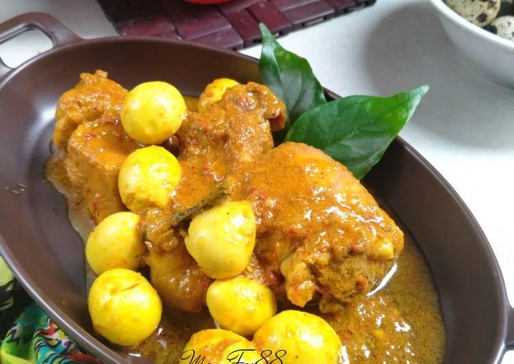 Kari Ayam Telur Puyuh - cookandrecipe.com