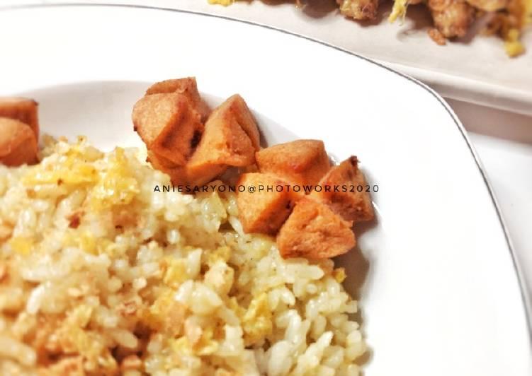 Nasi Goreng Bumbu Ungkep Ayam