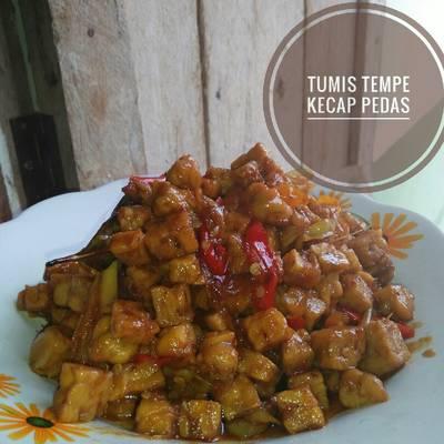 Resep Oseng Tempe Kecap Pedas Manis Oleh Ratih Ayu Bunda Jasmine Cookpad