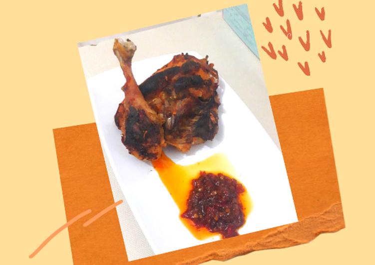 • sambal ayam bakar / panggang •