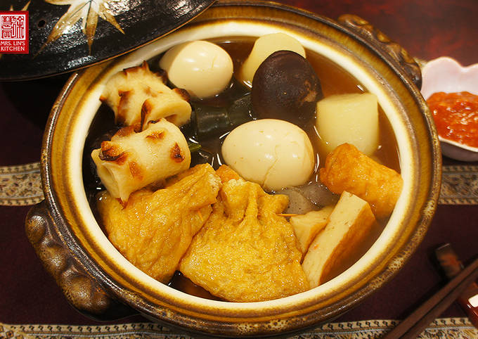 Recipe of Award-winning Oden: Japanese One-Pot Dish