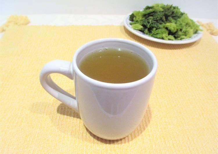 Como se prepara la sopa de col para bajar de peso