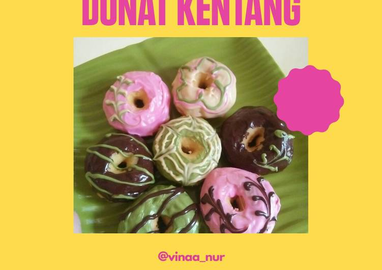 Donat kentang toping ala j.Co