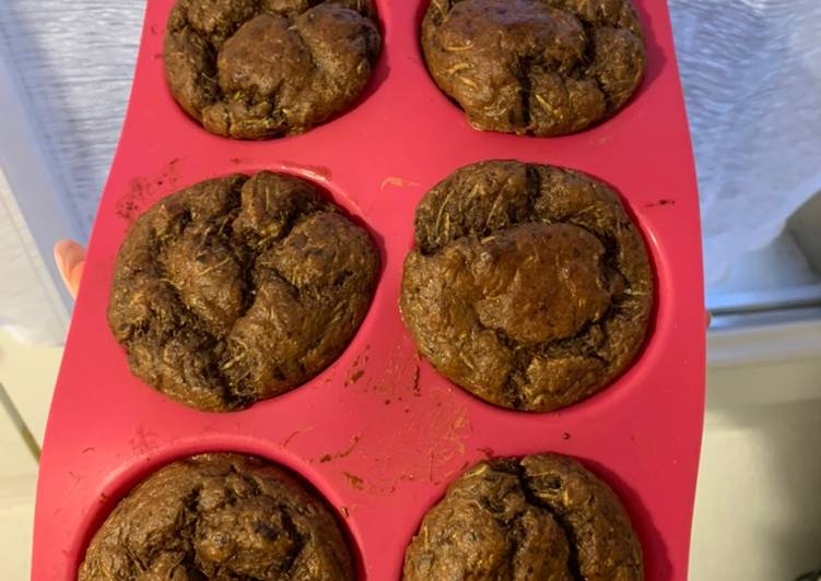 Muffins Choco & Courgette
