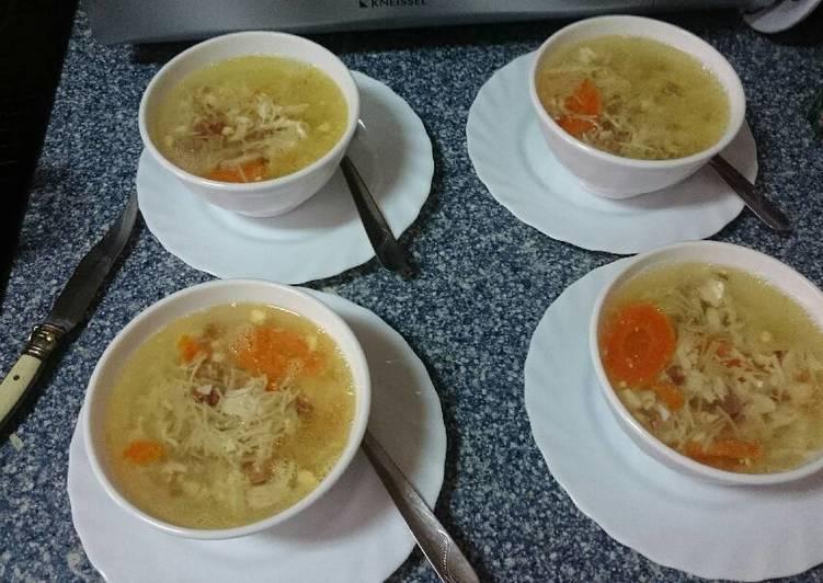 In cuarto english hora al de sopa