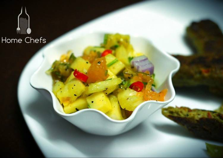 Caribbean Orange Pineapple Salad Recipe By Shaheen Mustafa