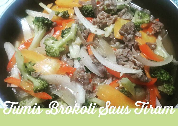 Tumis Brokoli Saus Tiram