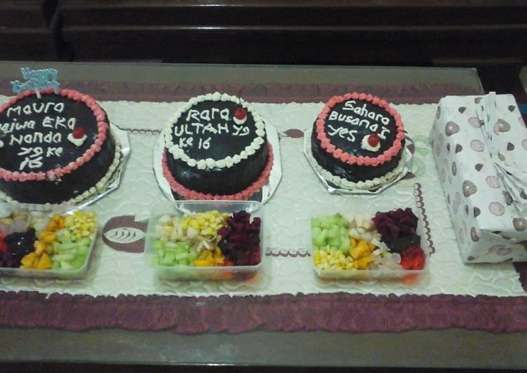 Resep Kue tart coklat Bikin Laper