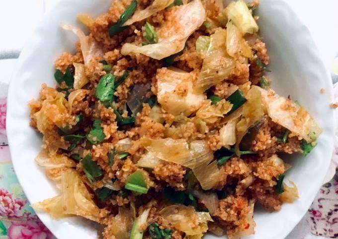 Kısır (Fine Bulghur Salad)