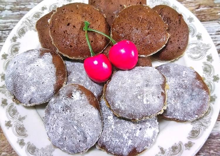Circle Brownie Cookies