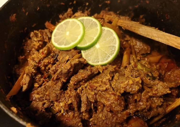 Malaysia Rendang beef