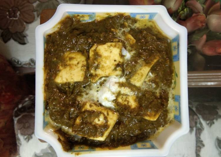 How to Make Any-night-of-the-week Palak paneer